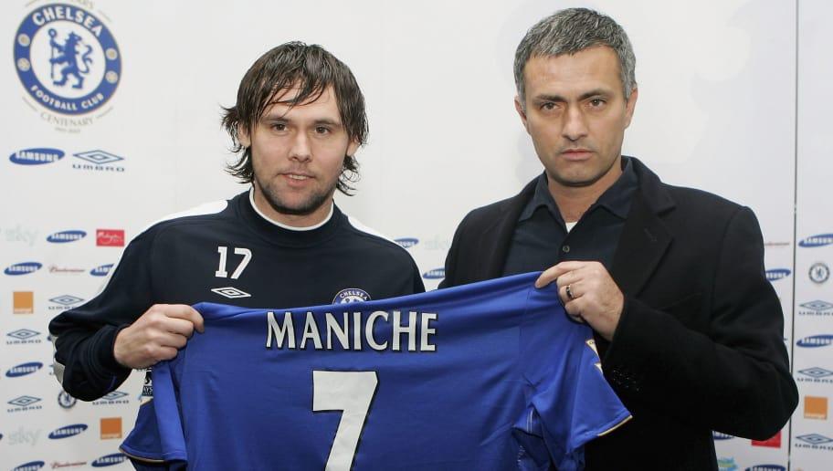 Maniche,Jose Mourinho