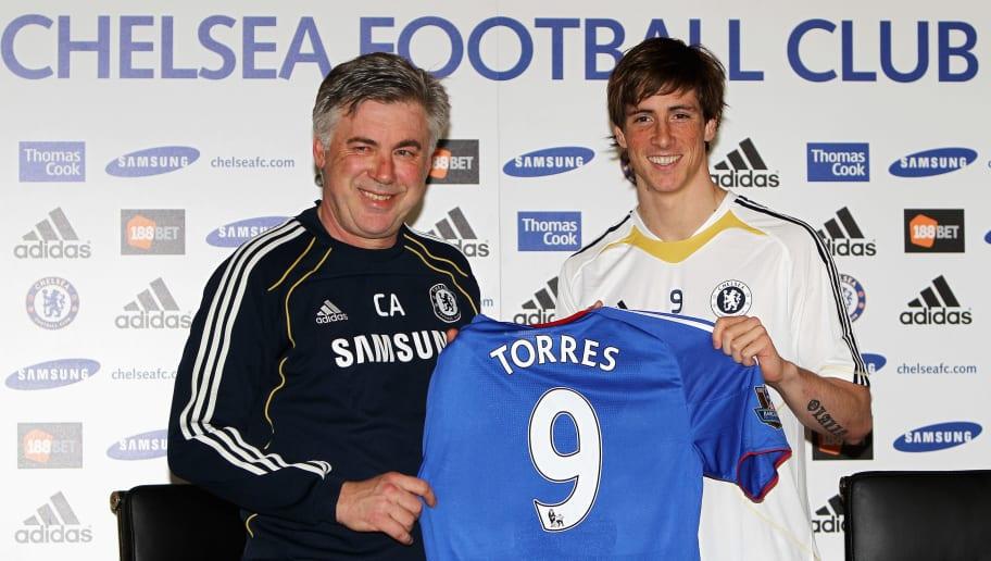 Carlo Ancelotti,Fernando Torres