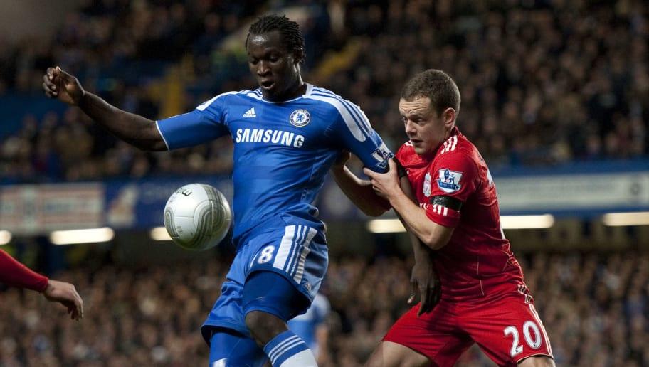 Chelsea's Belgian striker  Romelu Lukaku