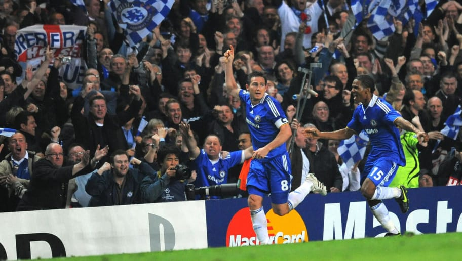Image result for Chelsea 4-4 Liverpool – UEFA Champions League quarter-final 2009