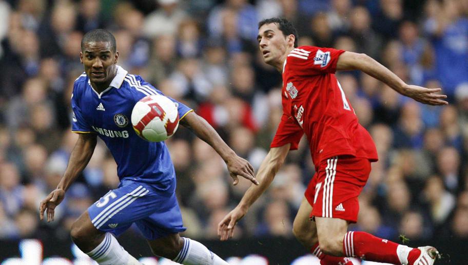 Chelsea's French midfielder Florent Malo