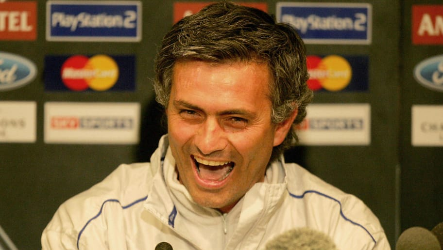 Chelsea's Portugese manager Jose Mourinh