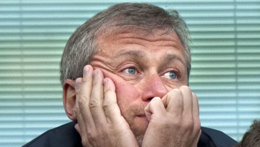 Chelsea's Russian owner Roman Abramovic