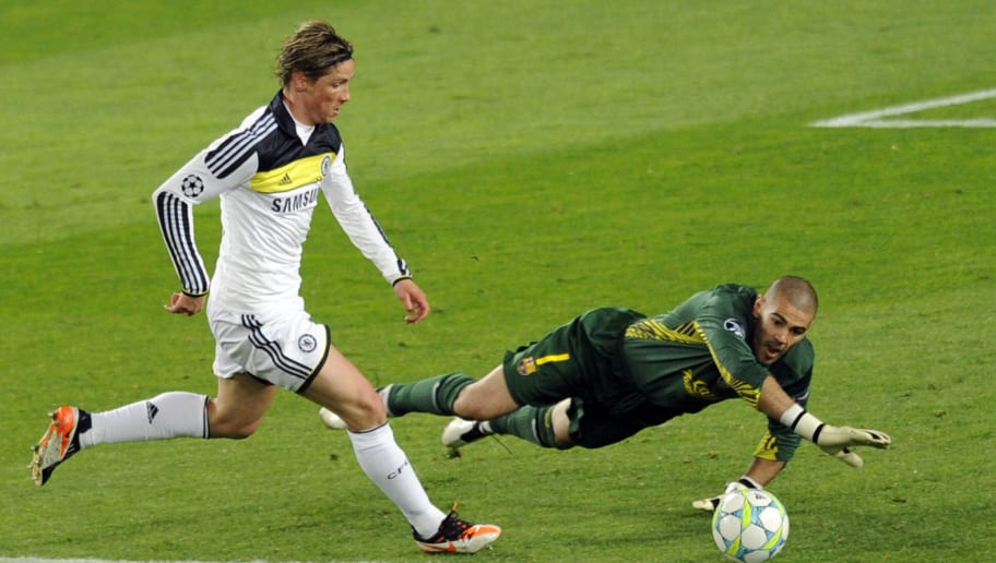 Chelsea's Spanish forward Fernando Torre