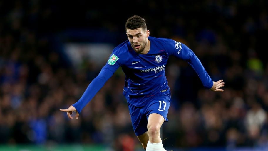 LONDON, ENGLAND - DECEMBER 19: Mateo Kovacic of Chelsea in action during the Carabao Cup Quarter Final match between Chelsea and AFC Bournemouth at Stamford Bridge on December 19, 2018 in London, United Kingdom. (Photo by Jordan Mansfield/Getty Images)