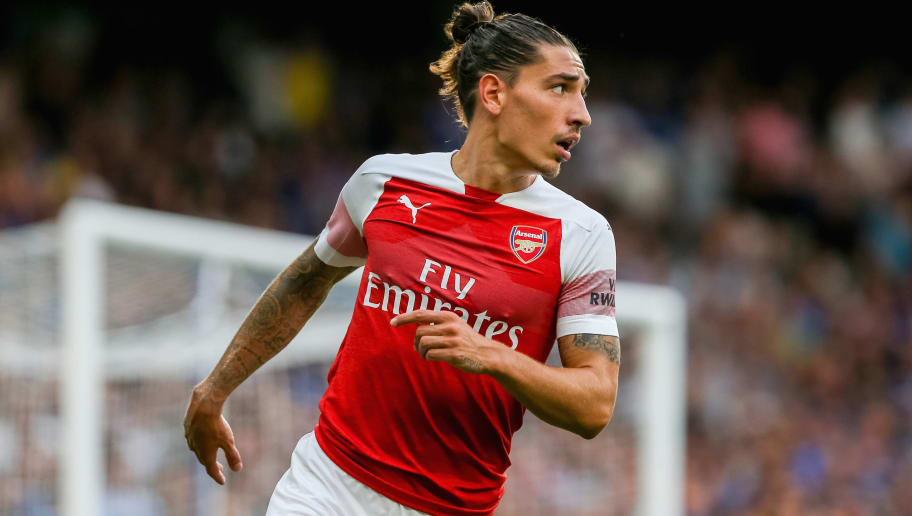 Image result for hector bellerin angry