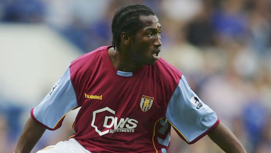 LONDON - SEPTEMBER 24:  Eric Djemba-Djemba of Aston Villa in action during the Barclays Premiership match between Chelsea and Aston Villa at Stamford Bridge on September 24, 2005 in London, England.  (Photo by Julian Finney/Getty Images)