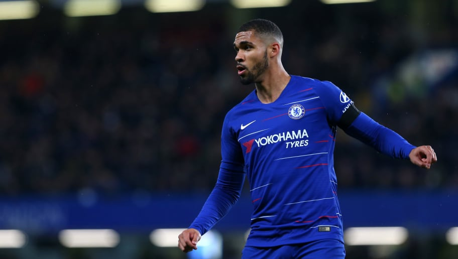 LONDON, ENGLAND - OCTOBER 31: Ruben Loftus Cheek of Chelsea FC during the Carabao Cup Fourth Round match between Chelsea and Derby County at Stamford Bridge on October 31, 2018 in London, England. (Photo by Chloe Knott - Danehouse/Getty Images)