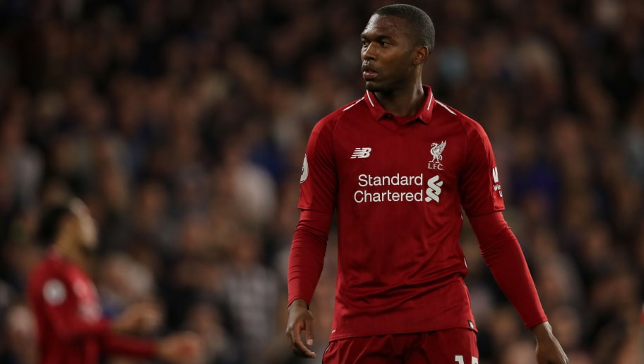 LONDON, ENGLAND - SEPTEMBER 29: Daniel Sturridge of Liverpool during the Premier League match between Chelsea FC and Liverpool FC at Stamford Bridge on September 29, 2018 in London, United Kingdom. (Photo by Matthew Ashton - AMA/Getty Images)
