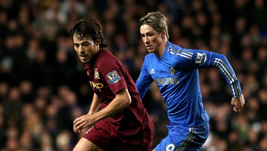 David Silva,Fernando Torres