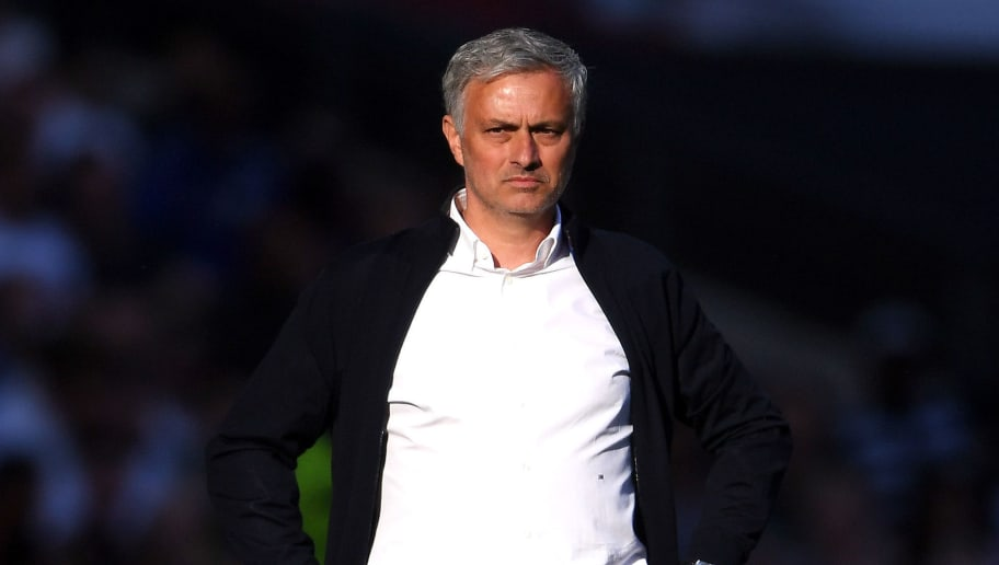 LONDON, ENGLAND - MAY 19:  Jose Mourinho, Manager of Manchester United looks on during The Emirates FA Cup Final between Chelsea and Manchester United at Wembley Stadium on May 19, 2018 in London, England.  (Photo by Laurence Griffiths/Getty Images)