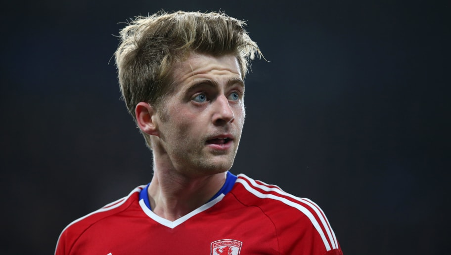 LONDON, ENGLAND - MAY 08: Patrick Bamford of Middlesbrough during the Premier League match between Chelsea and Middlesbrough at Stamford Bridge on May 8, 2017 in London, England. (Photo by Catherine Ivill - AMA/Getty Images)