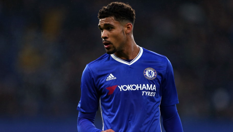 LONDON, ENGLAND - JANUARY 08: Ruben Loftus-Cheek of Chelsea during the Emirates FA Cup Third Round between Chelsea and Peterborough United at Stamford Bridge on January 8, 2017 in London, England. (Photo by Catherine Ivill - AMA/Getty Images)