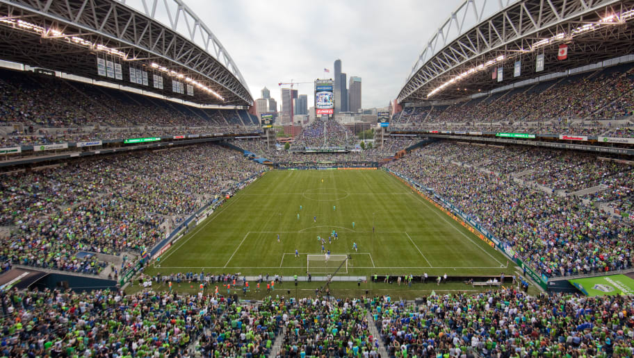 SEATTLE, WA - JULY 18:  A general view during the match between the Seattle Sounders FC and Chelsea FC at CenturyLink Field on July 18, 2012 in Seattle, Washington. Chelsea defeated the Sounders 4-2.  (Photo by Otto Greule Jr/Getty Images)