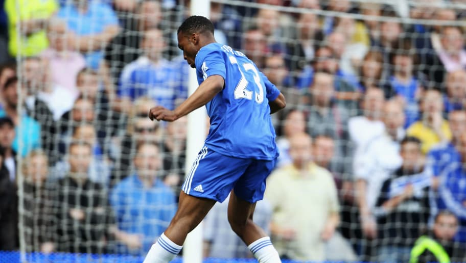 LONDON, ENGLAND - APRIL 25:  Daniel Sturridge of Chelsea scores their sixth goal during the Barclays Premier League match between Chelsea and Stoke City at Stamford Bridge on April 25, 2010 in London, England.  (Photo by Phil Cole/Getty Images)