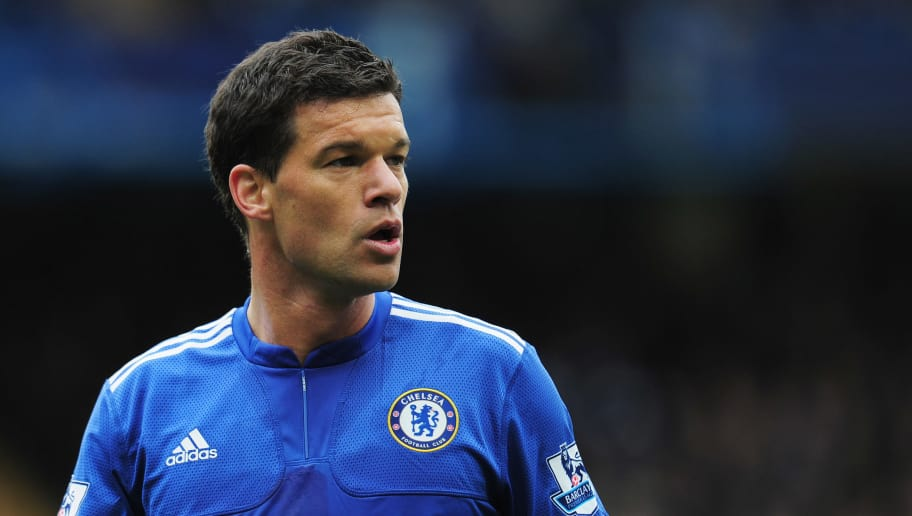 LONDON, ENGLAND - MAY 09:  Michael Ballack of Chelsea looks on during the Barclays Premier League match between Chelsea and Wigan Athletic at Stamford Bridge on May 9, 2010 in London, England.  (Photo by Shaun Botterill/Getty Images)