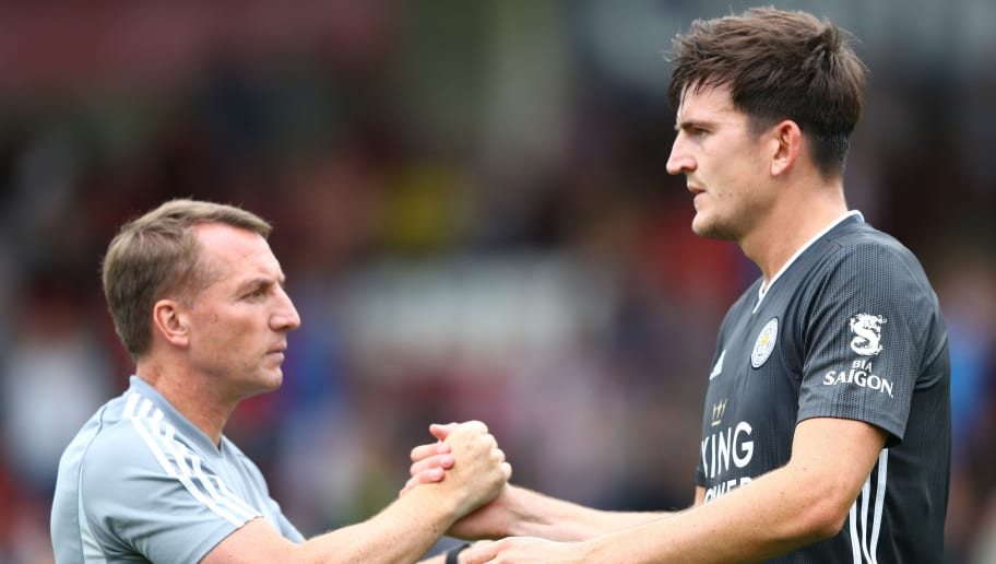 Harry Maguire,Brendan Rodgers