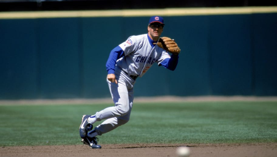 SAN FRANCISCO - AUGUST 13:  Ryne Sandberg #23 of the Chicago Cubs fields the ball during the game against the San Francisco Giants at 3Com Park on August 13, 1997 in San Francisco, California. The Giants defeated the Giants 6-5. (Photo by Otto Greule Jr/Getty Images)