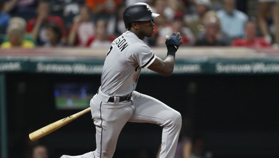 CLEVELAND, OH - SEPTEMBER 20:  Tim Anderson #7 of the Chicago White Sox bats against the Cleveland Indians in the third inning at Progressive Field on September 20, 2018 in Cleveland, Ohio. The White Sox defeated the Indians 5-4 in 11 innings.  (Photo by David Maxwell/Getty Images)