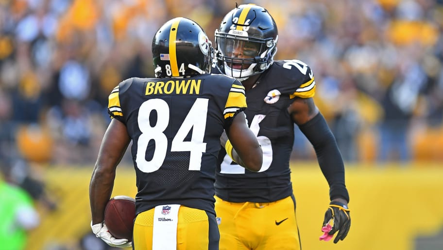 Antonio Brown,Le'Veon Bell