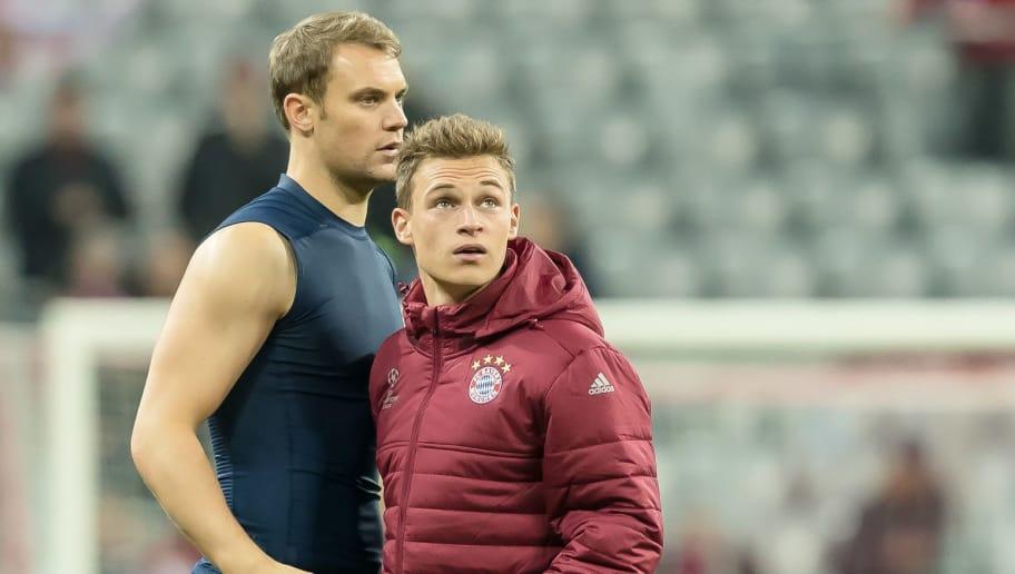 Manuel Neuer,Joshua Kimmich
