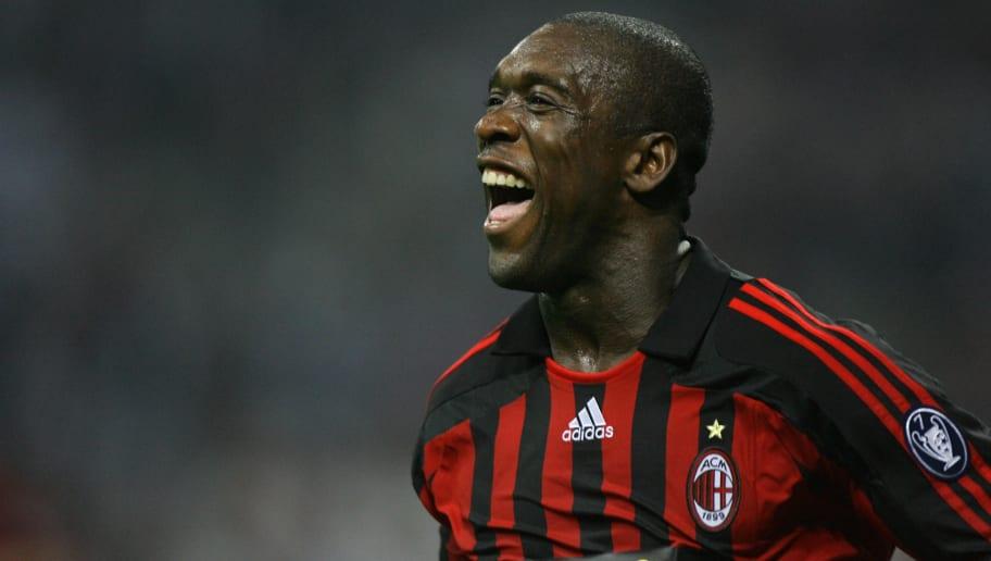 A.C. Milan's Dutch midfielder Clarence S
