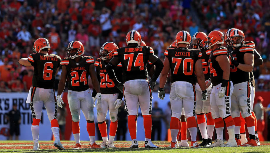 6b9966379e4 Browns Have Ridiculously Run Out of Their Color-Rush Jerseys