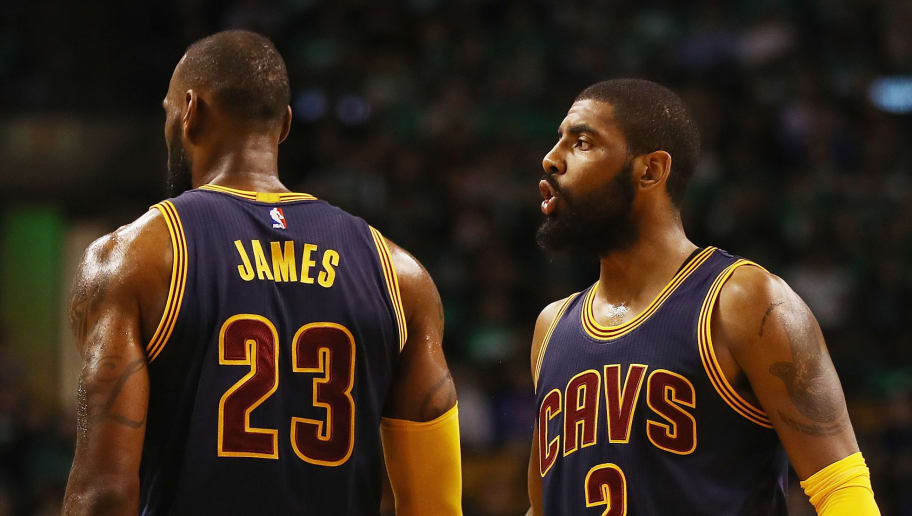 8288c6ae37d REPORT: Kyrie Irving Has Real Interest in Teaming Up With LeBron James Again