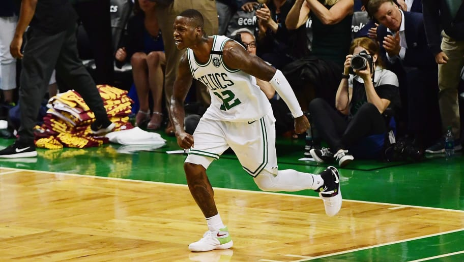 Terry Rozier Wore Mismatched Kyrie 2s