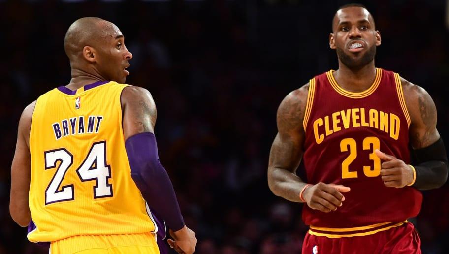 LeBron James,Kobe Bryant