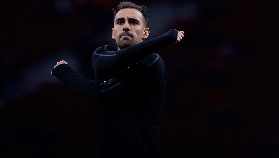 MADRID, SPAIN - NOVEMBER 06: Paco Alcacer of Borussia Dortmund looks on prior to the Group A match of the UEFA Champions League between Club Atletico de Madrid and Borussia Dortmund at Estadio Wanda Metropolitano on November 6, 2018 in Madrid, Spain. (Photo by David Aliaga/MB Media/Getty Images)