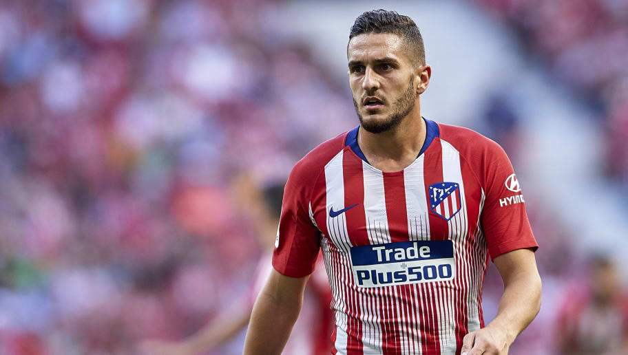 MADRID, SPAIN - OCTOBER 07:  Koke Resurreccion of Club Atletico de Madrid looks on during the La Liga match between Club Atletico de Madrid and Real Betis Balompie at Wanda Metropolitano on October 7, 2018 in Madrid, Spain.  (Photo by Quality Sport Images/Getty Images)