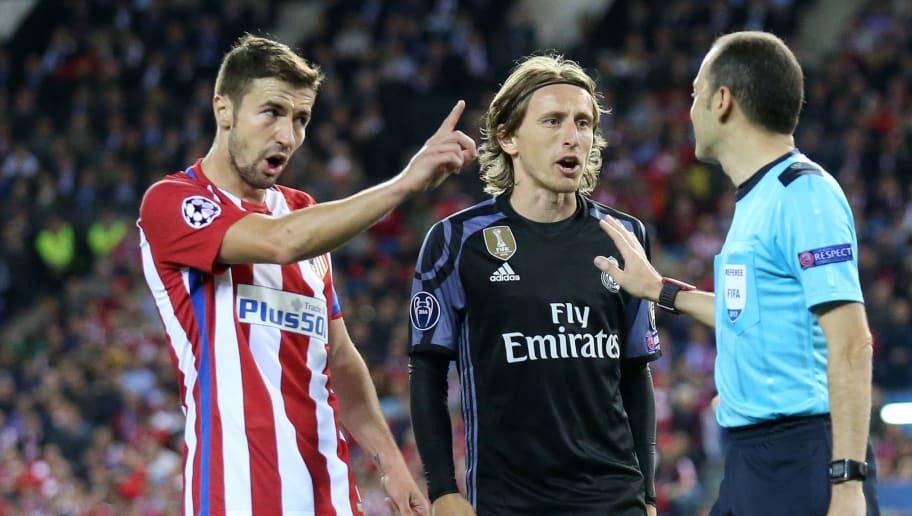Sergio Ramos,Cuneyt Cakir,Gabi Fernandez Arenas,Luka Modric