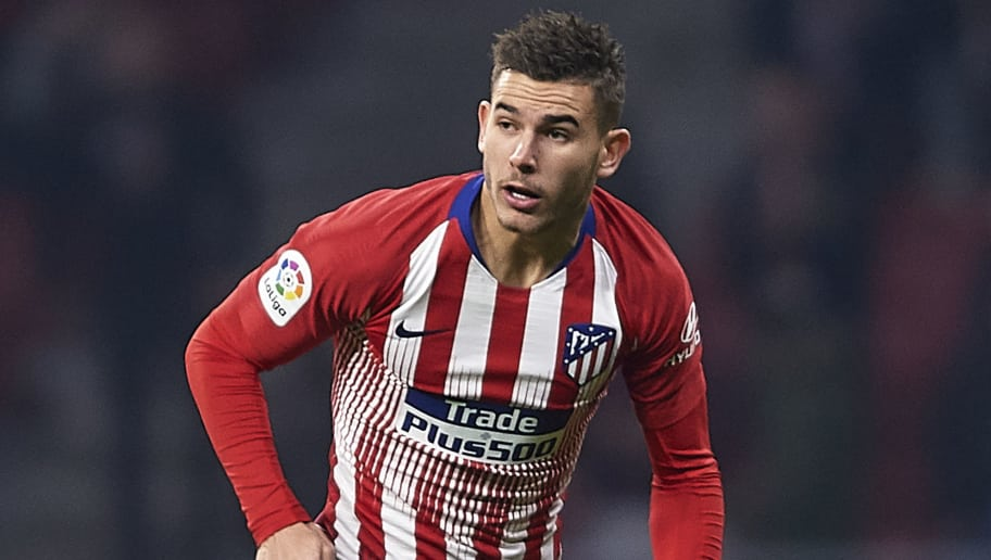 MADRID, SPAIN - DECEMBER 05: Lucas Hernandez of Atletico de Madrid in action during the Spanish Copa del Rey second leg match between Atletico de Madrid and Sant Andreu at Estadio Wanda Metropolitano on December 05, 2018 in Madrid, Spain. (Photo by Quality Sport Images/Getty Images)