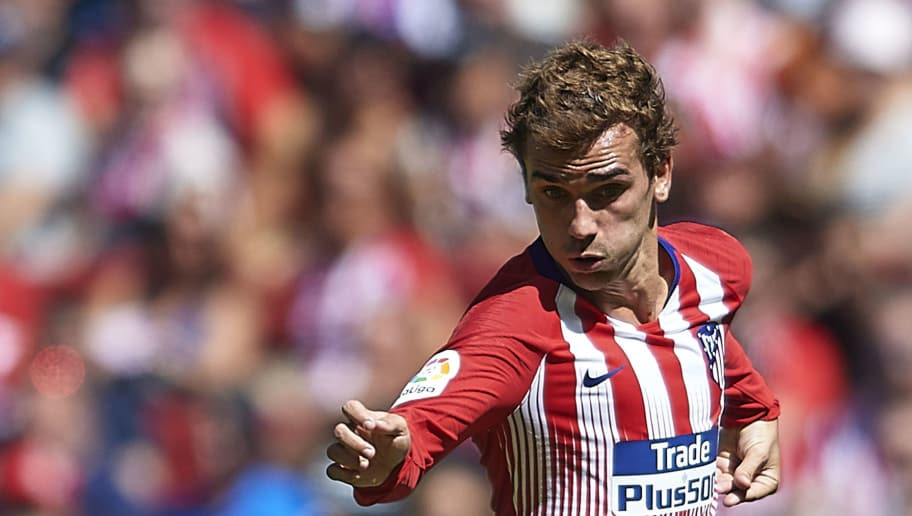 MADRID, SPAIN - SEPTEMBER 15:  Antoine Griezmann of Atletico de Madrid in action during the La Liga match between Club Atletico de Madrid and SD Eibar at Wanda Metropolitano on September 15, 2018 in Madrid, Spain.  (Photo by Quality Sport Images/Getty Images)