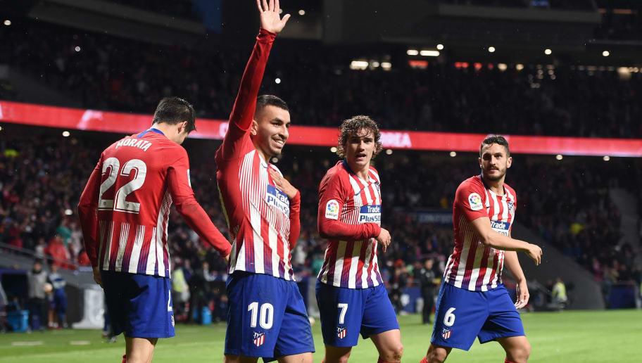 Angel Correa,Alvaro Morata,Antoine Griezmann,Koke