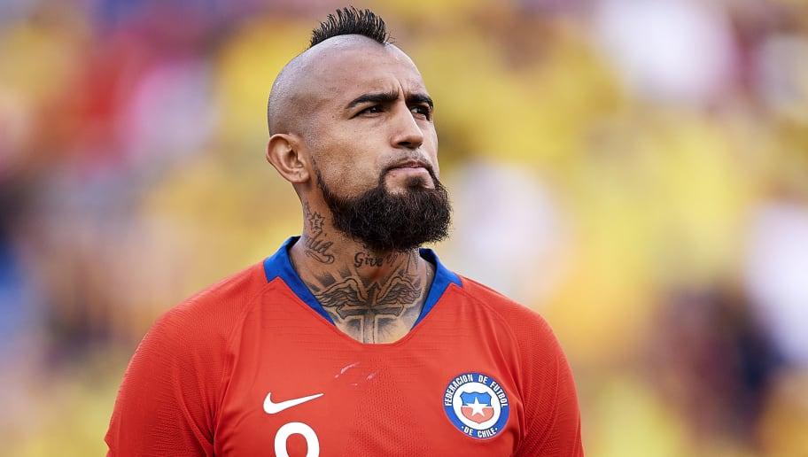 """Arturo Vidal explicó su peinado y menospreció a Marcelo Bielsa: """"Es  excesivo""""   90min"""