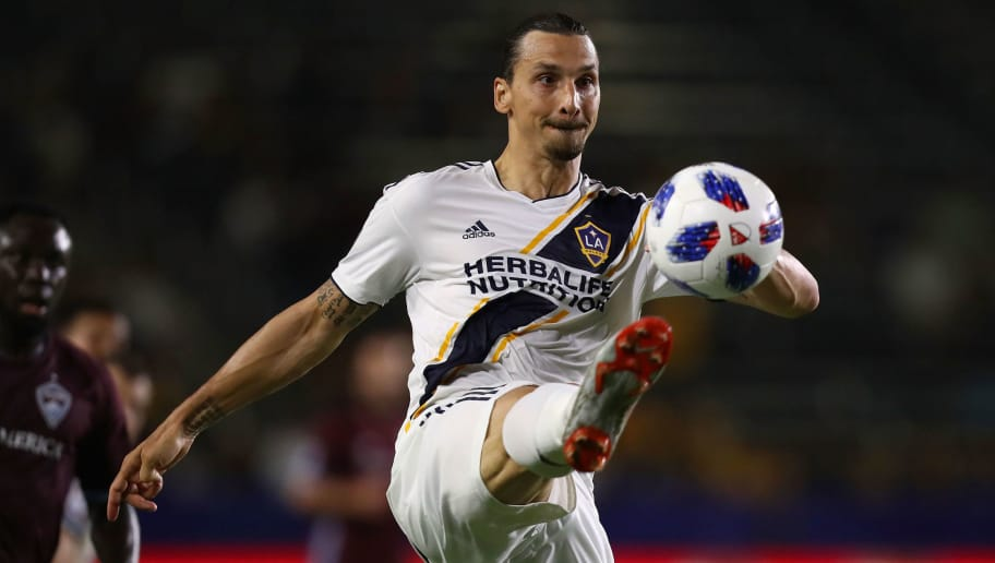 brand new 71092 3c296 Zlatan Ibrahimovic Fined by MLS Authorities for 'Alleged ...