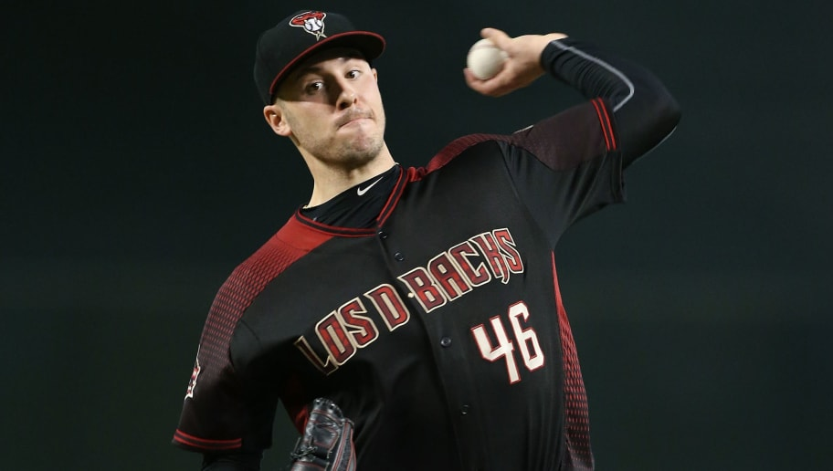 PHOENIX, AZ - SEPTEMBER 22:  Patrick Corbin #46 of the Arizona Diamondbacks pitches against the Colorado Rockies during the second inning of an MLB game at Chase Field on September 22, 2018 in Phoenix, Arizona.  (Photo by Ralph Freso/Getty Images)