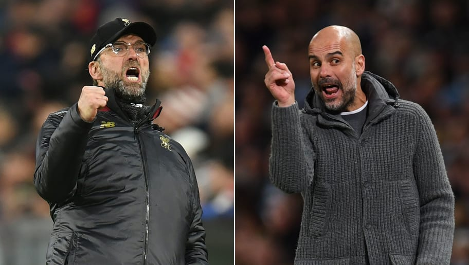 COMBO-FILES-FBL-ENG-PR-LIVERPOOL-MAN CITY-KLOPP-GUARDIOLA