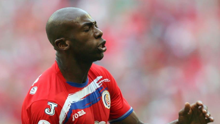 Costa Rican forward Paulo Wanchope celeb