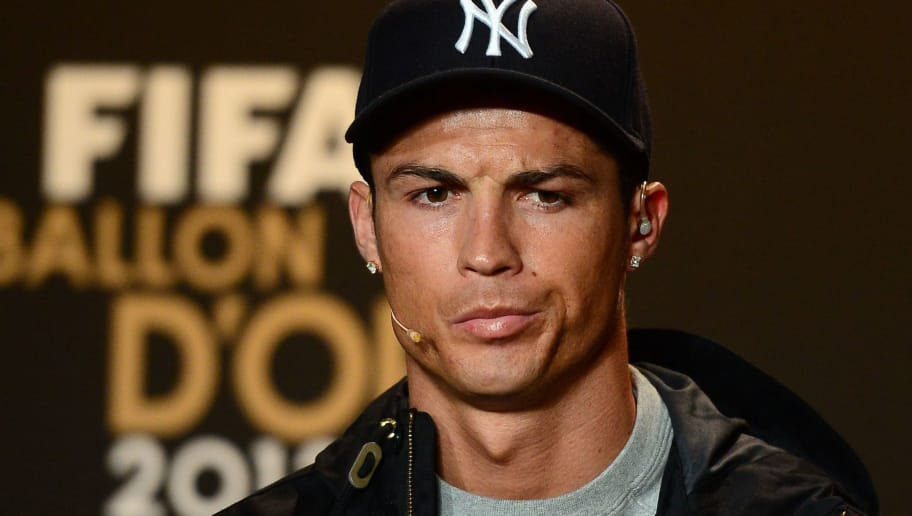 Portugal's Cristiano Ronaldo gives a press conference on January 7, 2013 at the Kongresshaus, ahead of the Fifa 2012 Ballon d'Or award ceremony in Zurich. AFP PHOTO / OLIVIER MORIN        (Photo credit should read OLIVIER MORIN/AFP/Getty Images)