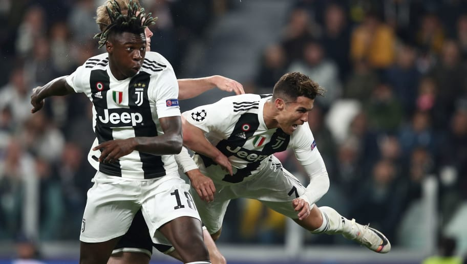 Carlo Ancelotti Backs CR7 to Play Until He is 40 and Mould Moise Kean as His Successor