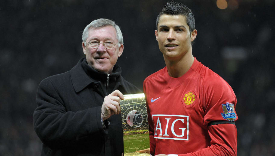 Image result for ronaldo Sir Alex Ferguson