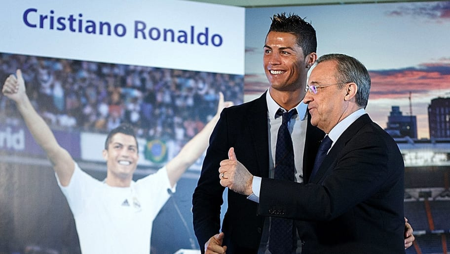 Cristiano Ronaldo,Florentino Perez