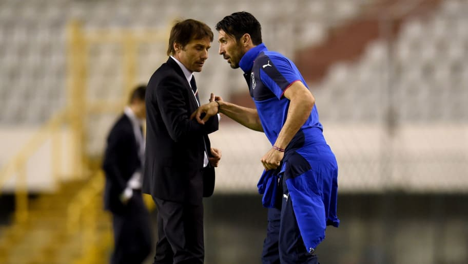 Antonio Conte,Gianluigi Buffon