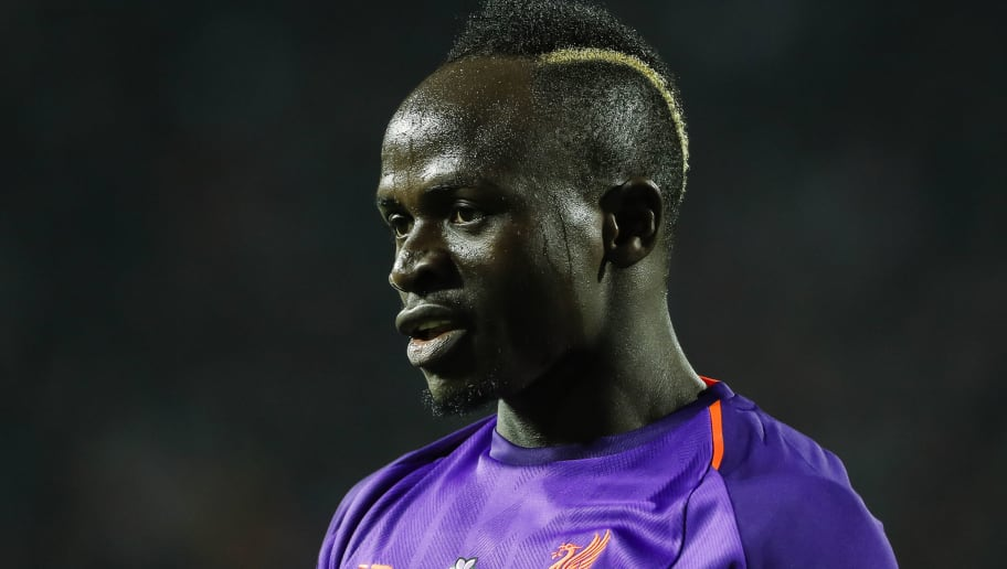 BELGRADE, SERBIA - NOVEMBER 06: Sadio Mane of Liverpool looks on during the Group C match of the UEFA Champions League between Red Star Belgrade and Liverpool at Rajko Mitic Stadium on November 06, 2018 in Belgrade, Serbia. (Photo by Srdjan Stevanovic/Getty Images)