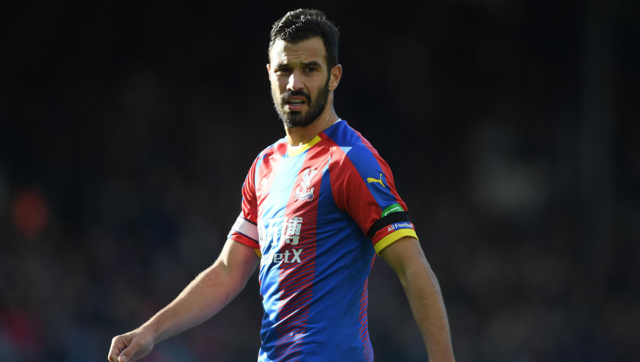 LONDON, ENGLAND - OCTOBER 28: Luka Milivojevic of Crystal Palace looks on during the Premier League match between Crystal Palace and Arsenal FC at Selhurst Park on October 28, 2018 in London, United Kingdom. (Photo by Mike Hewitt/Getty Images)