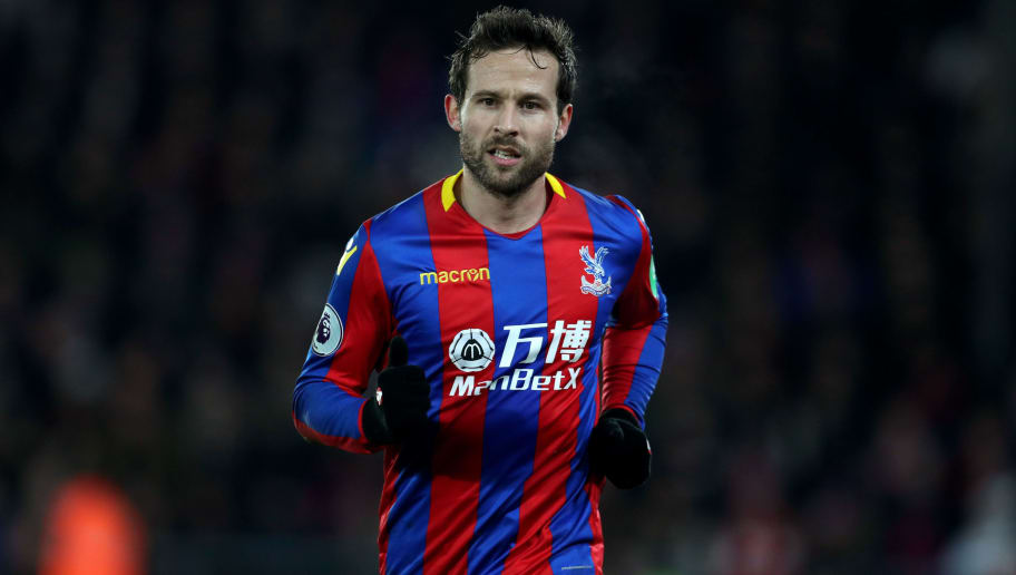 LONDON, ENGLAND - DECEMBER 28: Yohan Cabaye of Crystal Palace during the Premier League match between Crystal Palace and Arsenal at Selhurst Park on December 28, 2017 in London, England. (Photo by Catherine Ivill/Getty Images)