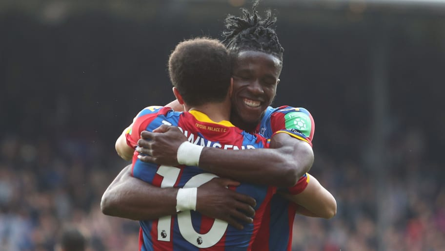 Andros Townsend,Wilfried Zaha
